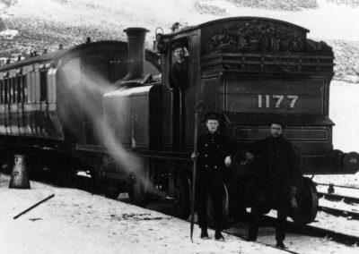 Leadhills and Wanlockhead Railway Heritage Railway Association, narrow gauge steam & diesel engine locomotives, South Lanarkshire, Scotland