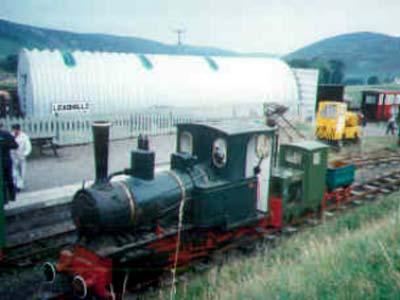 Charlotte Diesel Locomotive No9 Leadshill Railway