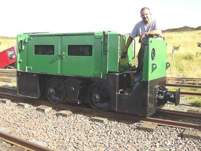 Clayton Diesel Locomotive No12 Leadshill Railway