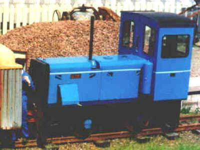 Clyde Diesel Locomotive No6 Leadshill Railway