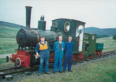 The Leadhills and Wanlockhead Railway Scotland's Premier Narrow Gauge Railway & Britain's Highest Adhesion Railway