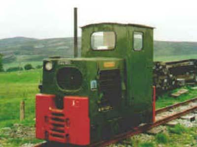 Little Clyde Diesel Locomotive No5 Leadshill Railway