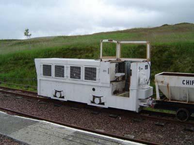 Mennock Diesel Locomotive No10 Leadshill Railway