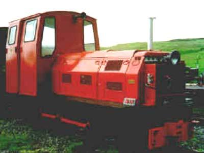 Nith Diesel Locomotive No8 Leadshill Railway